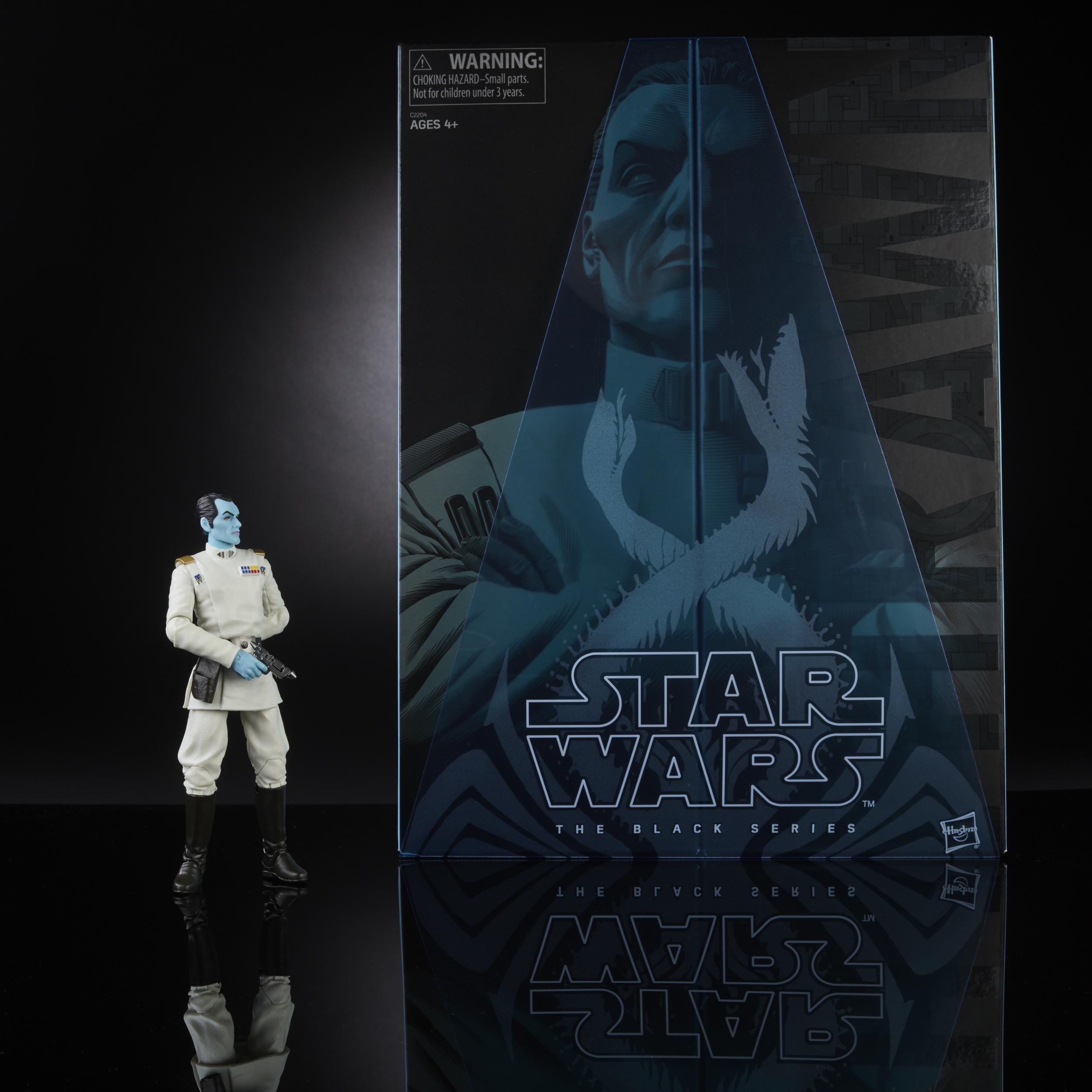 Star Wars Black Series 6 Inch Clone Sergeant Jaina Solo Grand Admiral Thrawn NEW