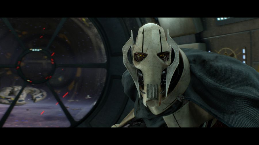 Grievous began to realize far too late