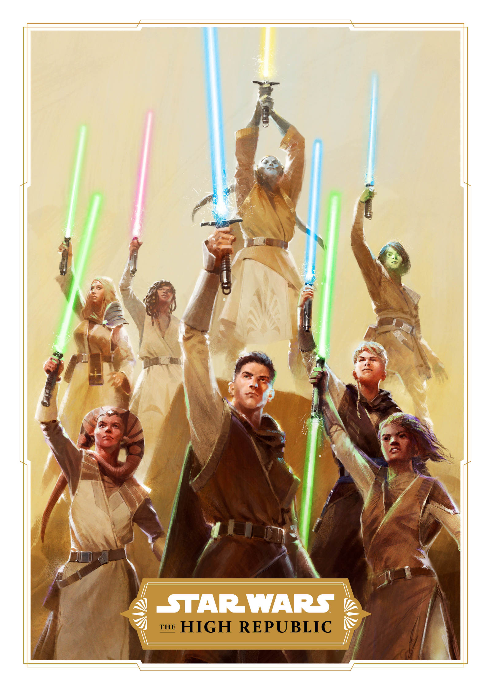 Star Wars: The High Republic publishing project is a positive addition