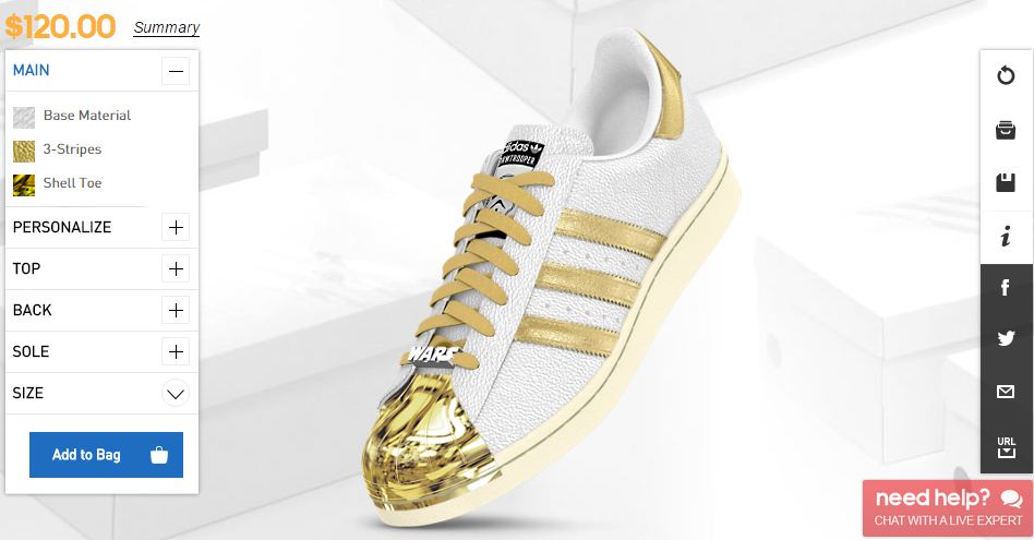 c105a001dfb1 Adidas presents Star Wars customizable shoes