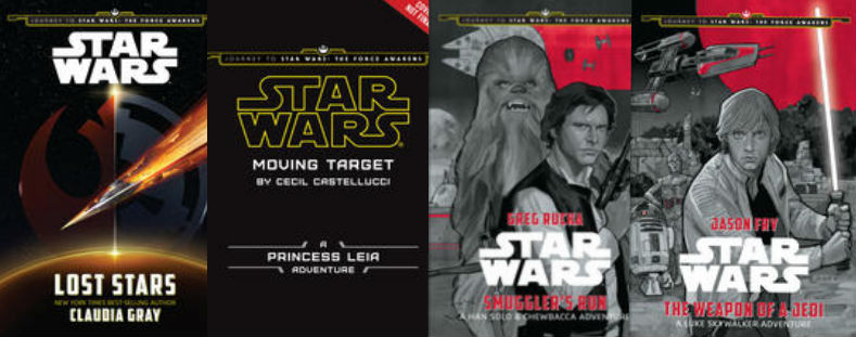 4 Books From Journey To Star Wars The Force Awakens