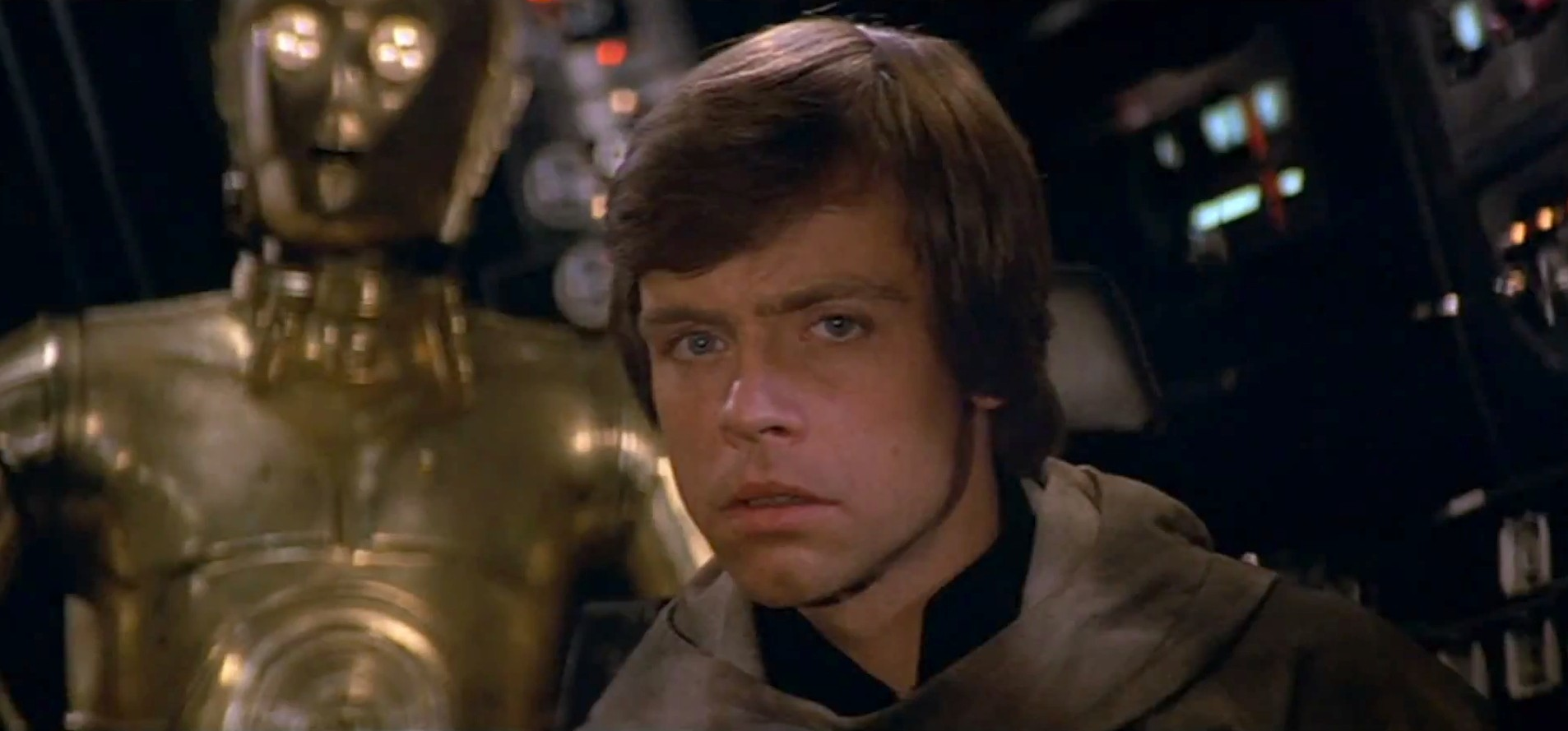 an analysis of luke in a new hope and the empire strikes back The empire strikes back  bring luke to his new master, the emperor k han finds luke and vice  to the empire strikes back is a perfectly symmetrical film.
