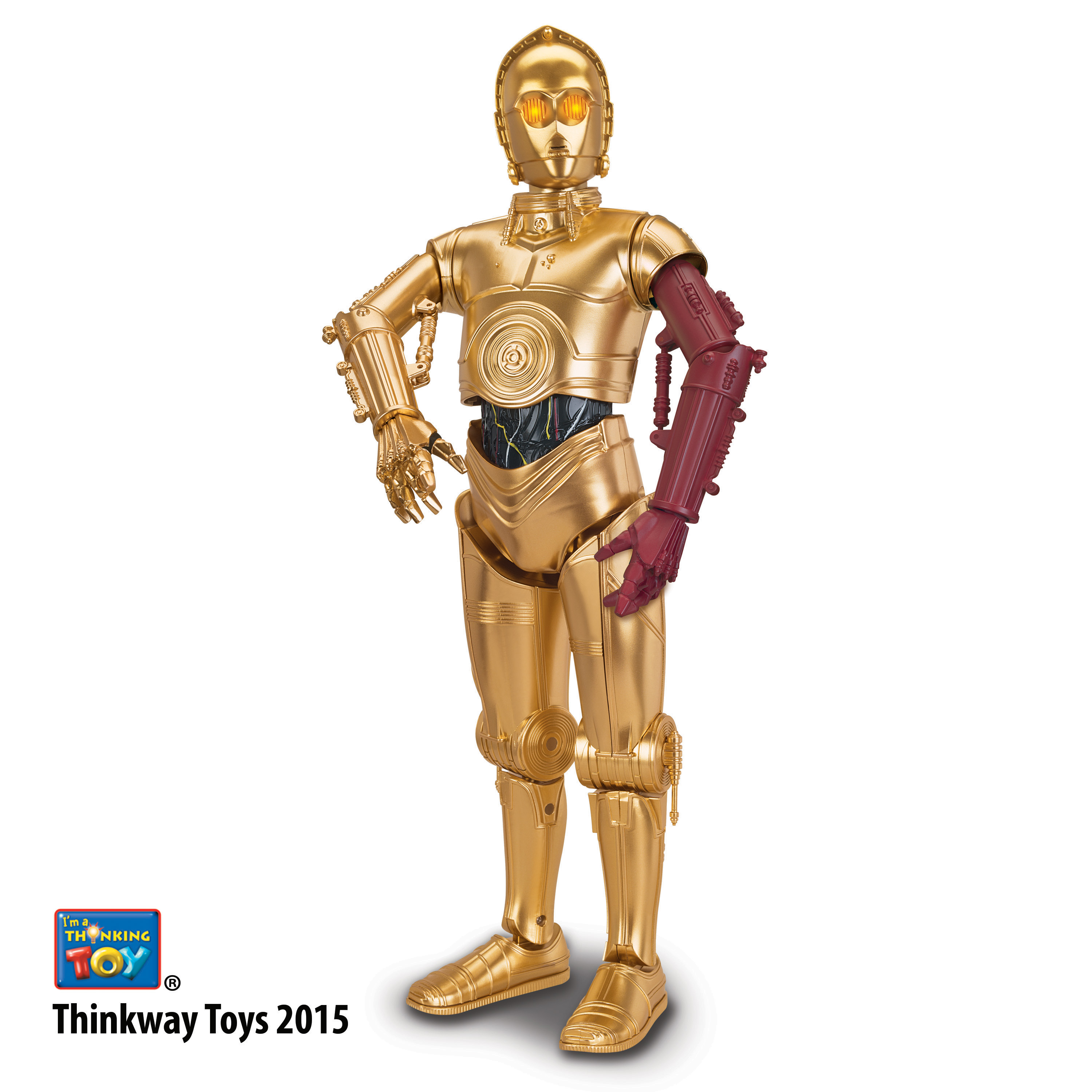 R2d2 And C3po Toys : Toys quot r us unveils new interactive the force awakens