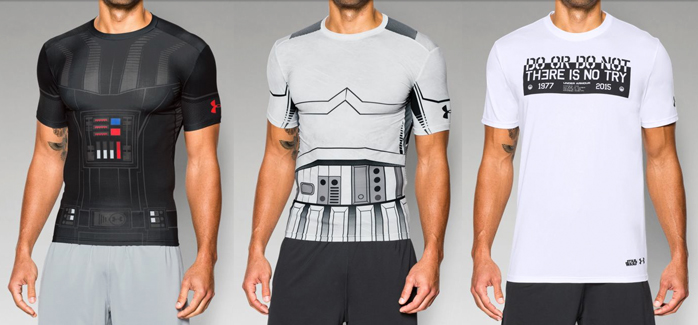 3f0ad8eab Check out Under Armour's New Line of Star Wars Wear