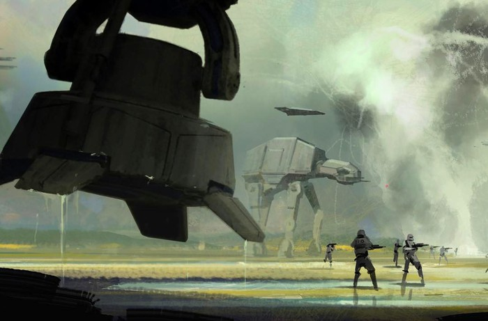 Concept Art From Rogue One A Star Wars Story Reveals New