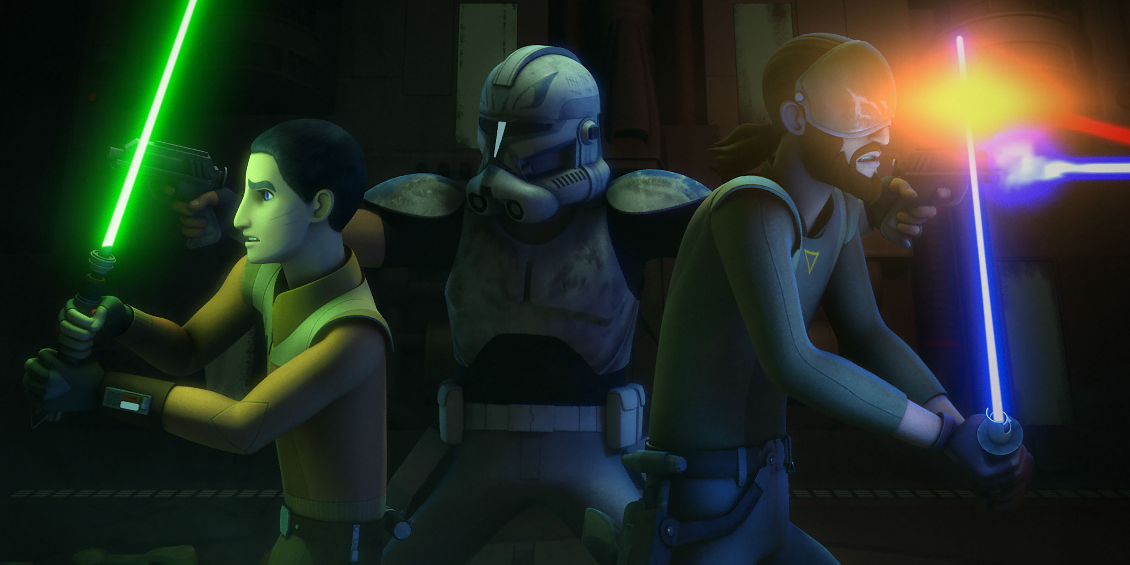 Star Wars Rebels: Where is Phoenix Squadron in the Original