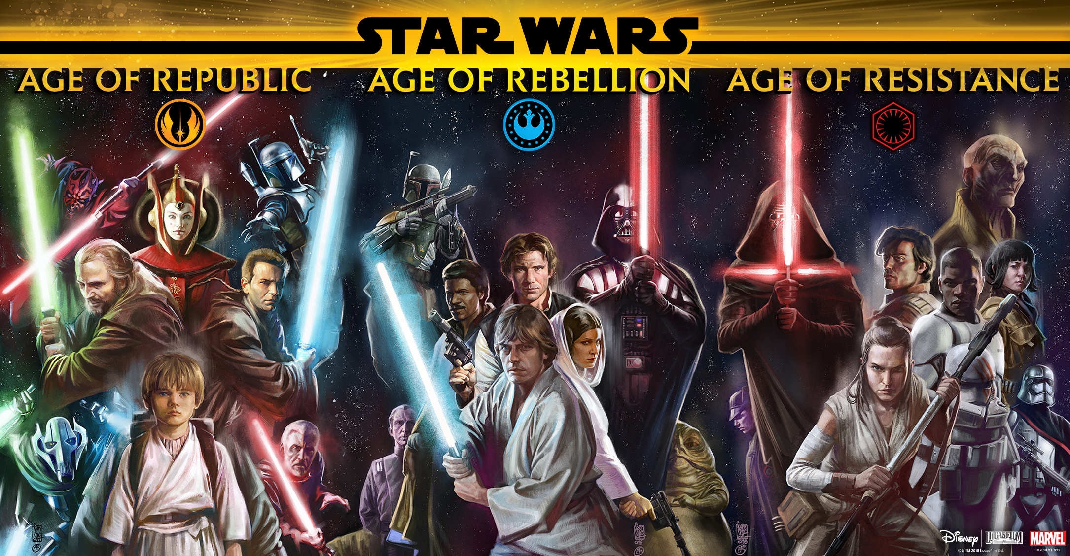 Star Wars: Our favorite characters from born leaders to ...
